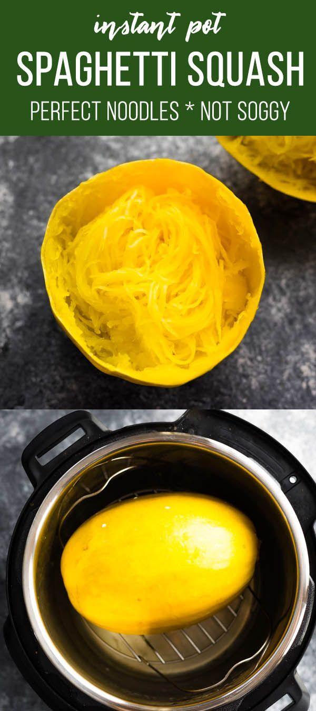 Instant Pot Spaghetti Squash (ganz)