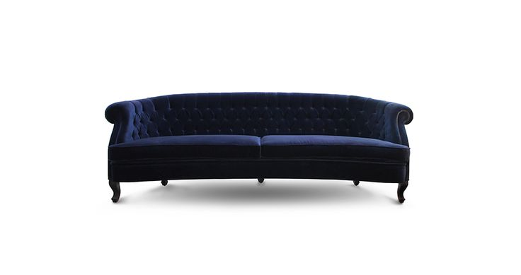 Maree Lounge Sofa is a must-have mid century modern furniture piece in every modern or classic master bedroom decor, bringing coziness and elegance to the set | Discover more  bedroom sofa ideas: http://masterbedroomideas.eu/