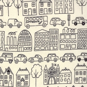 town coal-summersvilleFashion Fabrics, Ideas, Mama Sewing Sewing, Lucy Summer, Cars, Sewmamasew, Boys Fabrics, Town, Black