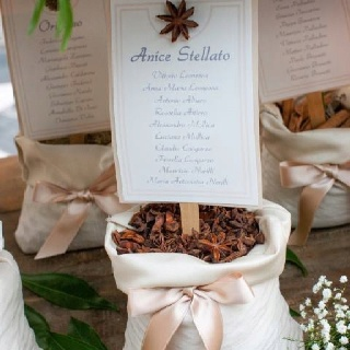 Tableau de marriage detail | Funny Events | Event Planners | Napoli