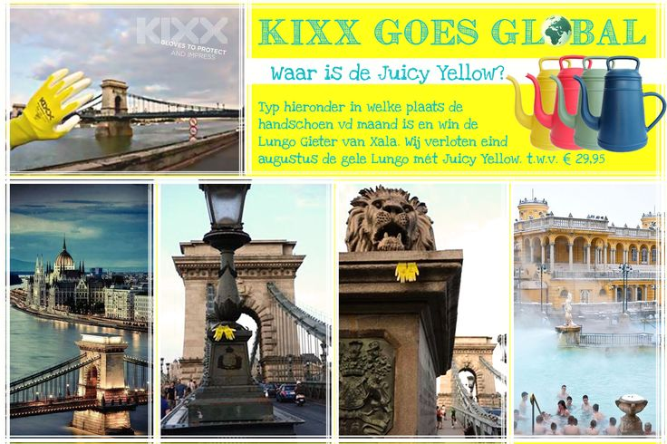 KIXX GOES GLOBAL! If you know where KIXX's Juicy Yellow is, please answer on our facebookpage and win! https://www.facebook.com/kixxsafety?ref=hl