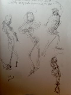 Gesture 2: 2 min each
