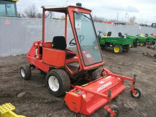Jacobson Turf Cat With A Flail Mower These Worked Really