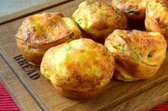Kahvaltılar Şenlendi: Peynirli Maydanozlu Popover Tarifi