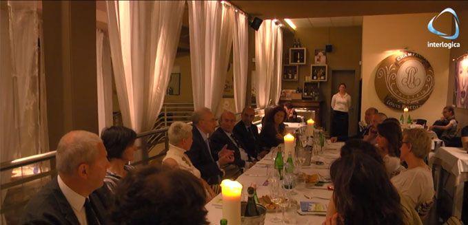A cena con l'innovazione, a cura di Erika De Bortoli con Metropolis Adv.  Ristorante Ai navigli, Padova.