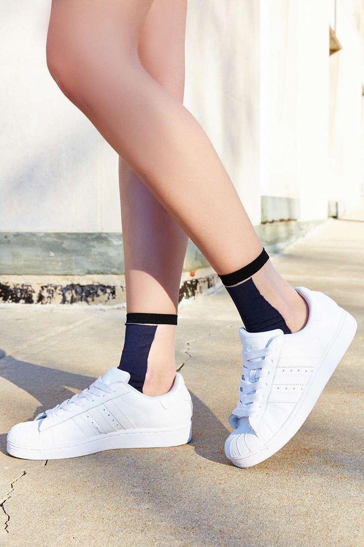 Colorblock Sheer Sock - Urban Outfitters