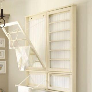 great laundry room idea!