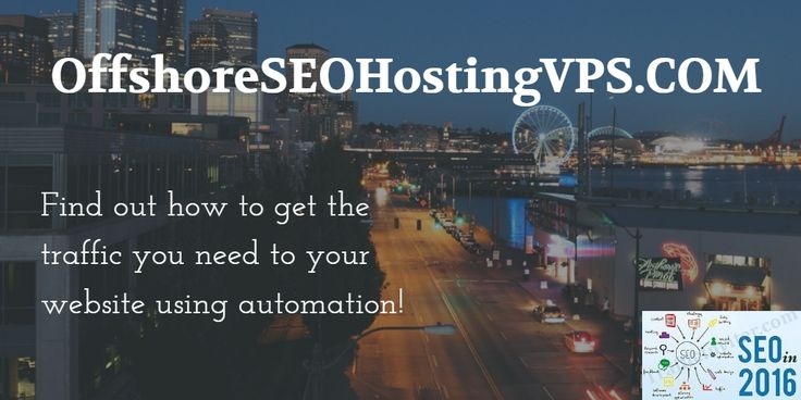 Find out how to get the traffic you need to your website using automation!