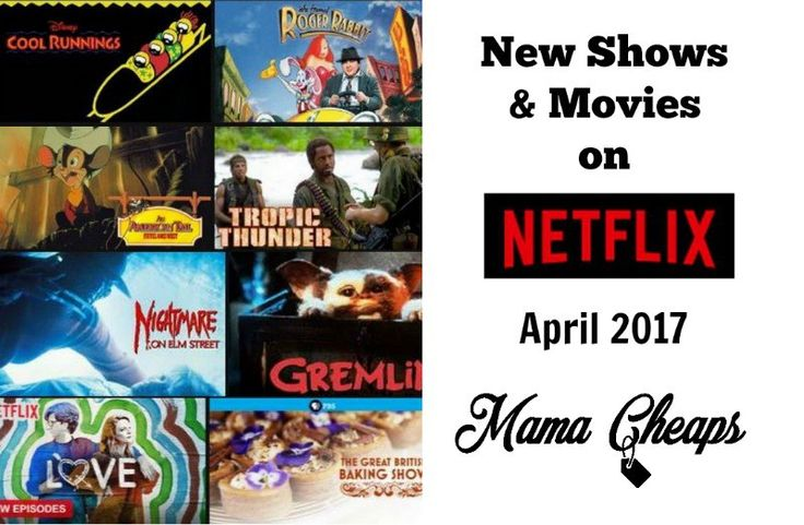 New Shows and Movies to Netflix April 2017 http://www.mamacheaps.com/2017/04/netflix-april-2017.html