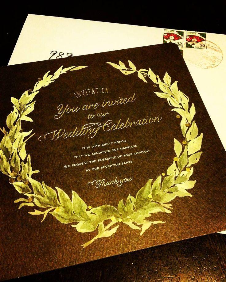 #悪友 から #結婚式 の #招待状 が届きました  アイツがとうとう結婚するとはねぇ  おめでとう  人生の先輩として一言  これだけは覚えとけ  これから夫婦の間でなんらかの問題が起きた場合君に出来る事はもう土下座しかないぞ(笑)