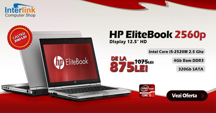 Profită acum de super oferta noastră. Câștigi 200 de lei achiziționând acest laptop HP EliteBook 2560p cu procesor Intel Core i5-2520M 2.5Ghz, 4Gb memorie RAM de tip DDR3, spațiu de stocare 320Gb SATA și unitate optică DVD-RW. Acest laptop are un display de 12.5 inch HD! Nu rata super oferta și intră acum pentru mai multe detalii sau specificații tehnice…