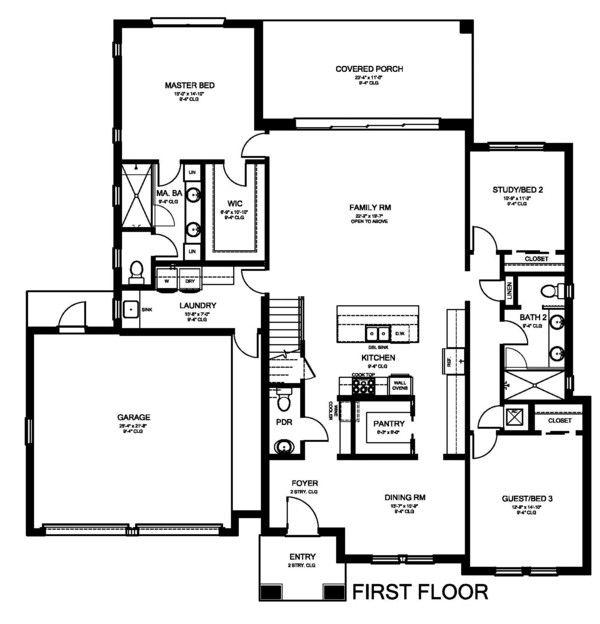 Plan 1058 175 Houseplans Com House Plans Modern Style House Plans House Plans Farmhouse