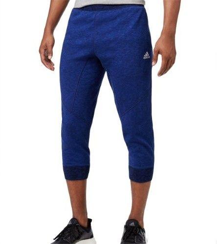 adidas Men Cross Up 3/4 Basketball Pants|Adidas|M|Blue|-|-|Xxl - XL - Blue