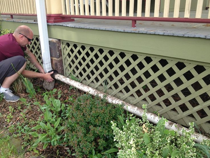 DIY Rain Gutter Watering System: Turn your gutter into a ...
