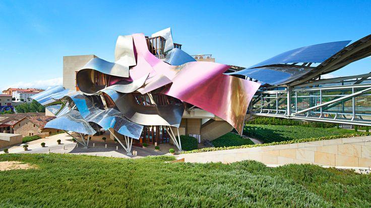 Hotel Marqués de Riscal Elciego in Elciego, Spain / designed by Frank O. Gehry