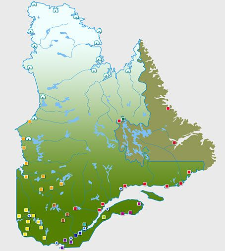 First Nations Interactive Map