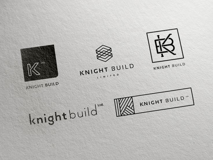 This week I've been working on some initial concepts for a new branding project at Green Chameleon HQ. Knight Build is a construction company who are involved with some of the largest and most pres...