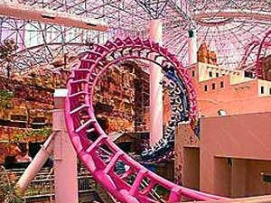 Circus Circus Hotel Images Roller Coaster At The Adventuredome In