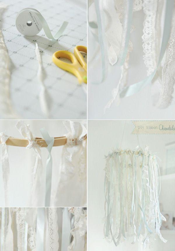 DIY Dentelle mania : photophores, lampions, boîtes et centre de table - Organiser un mariage