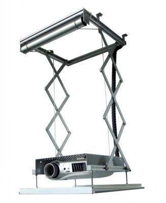 Winda sufitowa do projektora Simlift - zakres pracy do 85 cm Sprzęt do prezentacji: projektory, ekrany, tablice, kable - e-TABLICE