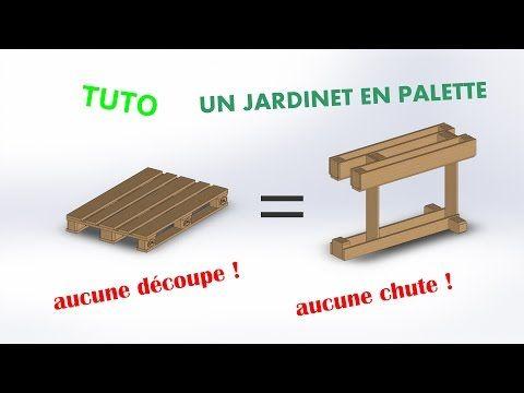 Démontez une palette EUROPE et remontez un bac à jardiner, pas de coupe, pas de chute !! Démontez une palette EUROPE et remontez un bac à jardiner, pas de coupe, pas de chute !!