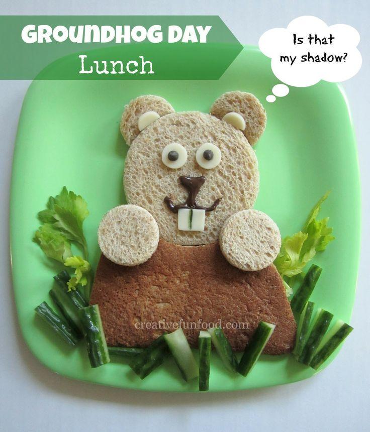 Groundhog Day Lunch creativefunfood.com