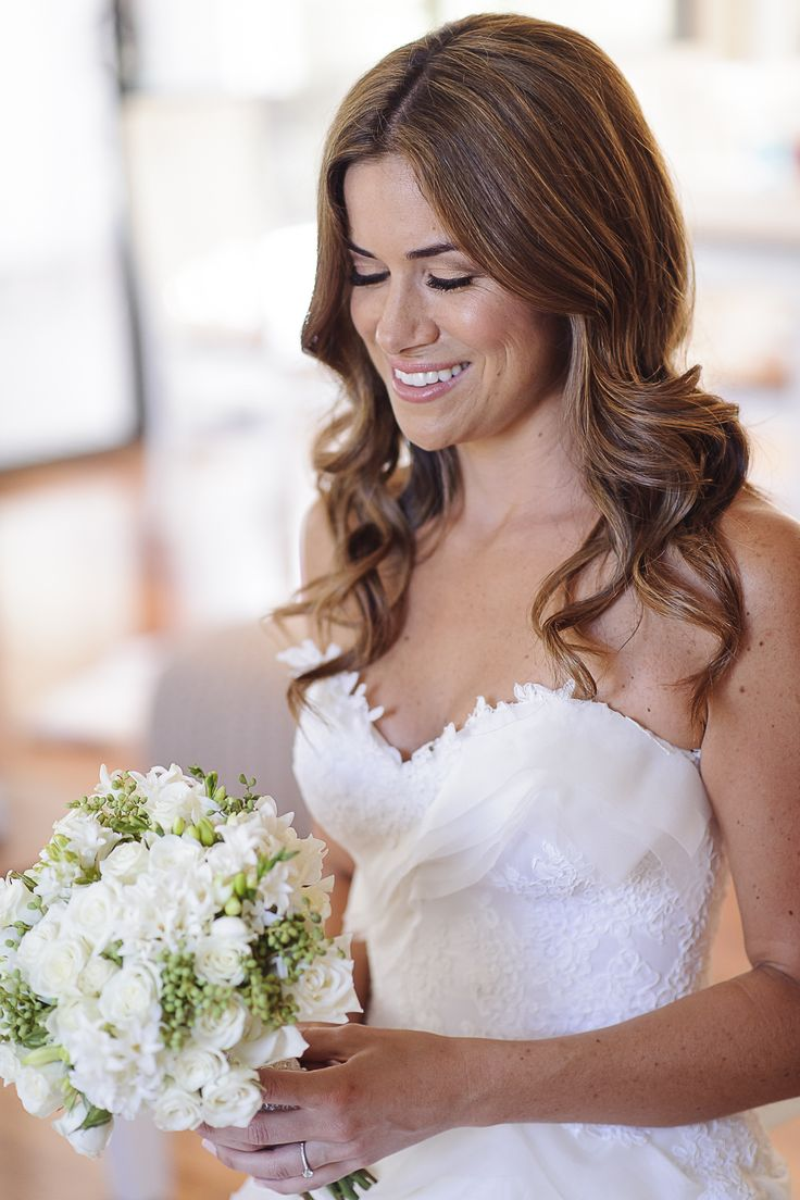 Beautiful flowers to match the most beautiful of brides!