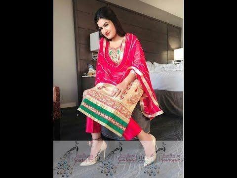 6b4bcf4c86 Kaur B Top 20 Suit Design Collection, Kaur B Punjabi Suit Collection 2018,  Kaur