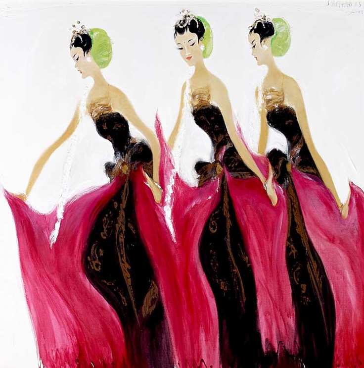 """ Bedoyo Ketawang - The Beauty of Moment ""   Srihadi Soedarsono (1931- 1931)"