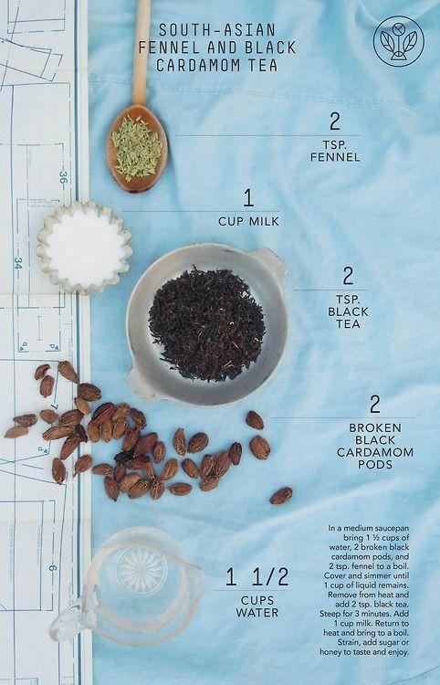 South Asian Fennel & Black Cardamom Tea | ️⊱Tea Time⊰ ️ ...