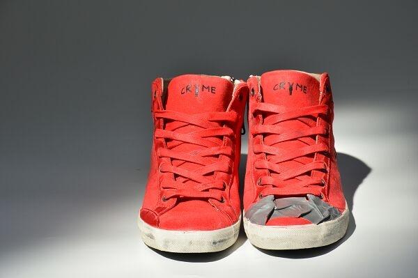 #Crime #Fashion - #Shoes #sneakers #coral #tape  #ss13  ww.crime-fashion.com