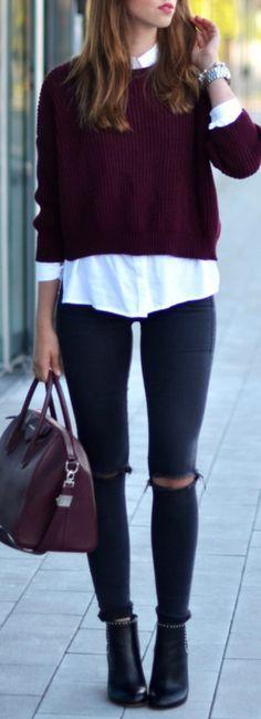 Hermoso look para salir a comprar un poco de ropa !! #Fashion&Style