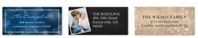 one free set of address labels just pay shipping