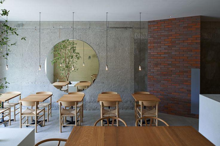 'Ito Weather' Minimalist Cafe by Japanese Studio Ninkipen!