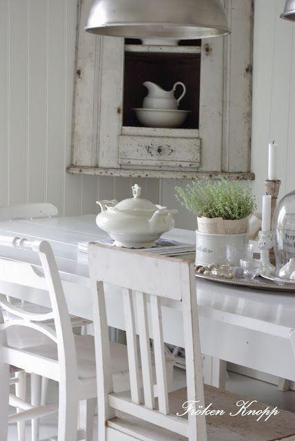 Beautiful White Dinning
