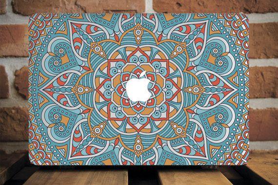 Henna Mac Pro 15 Case MacBook Pro Retina 15 Case MacBook Mandala Case MacBook Hardcase MacBook Cover Macbook 12 Inch Case MacBook Air Case