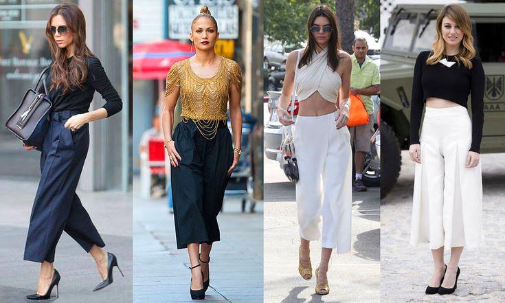 Calça Pantacourt - A moda é para todos !