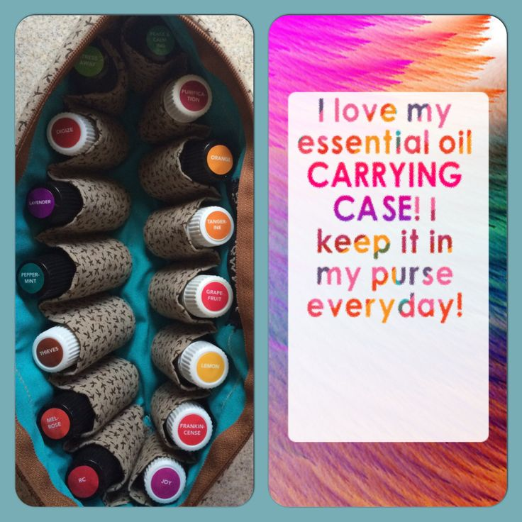 Essential Oil Carrying Case! You never know when you'll need it. I used Peace and Calming in #yoga class today! I love the stickers too... It really helps keep things organized! Case made by Sew Now What on Etsy. Kendra Babcock Young Living Member #1824444 #lemondropper