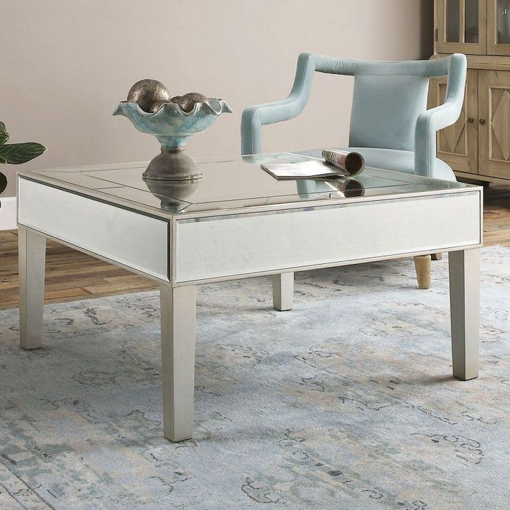 Empire Mirrored Coffee Table: 17 Best Ideas About Mirrored Coffee Tables On Pinterest