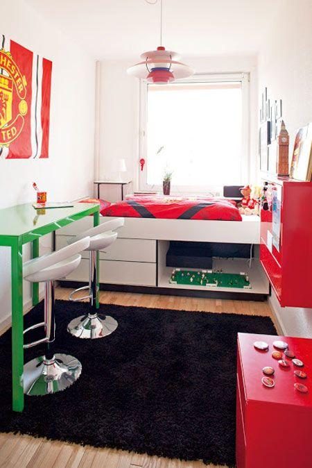 M s de 25 ideas incre bles sobre habitaciones juveniles - Habitaciones pequenas ikea ...