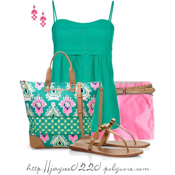 """""""Teal, Pink and Camel"""""""