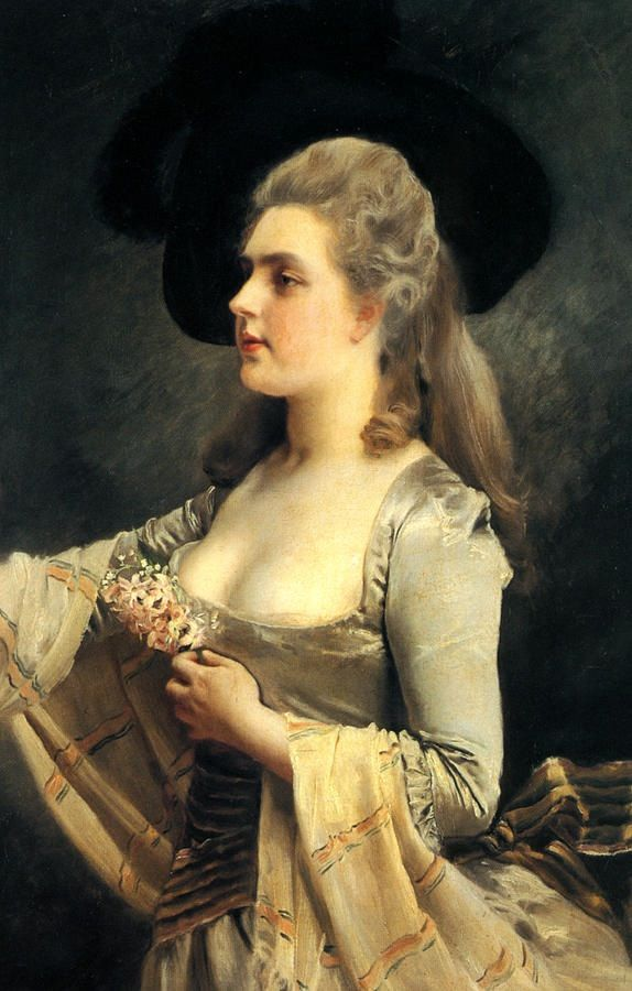 66 best art/ Gustave Jean Jacquet images on Pinterest | Female ...