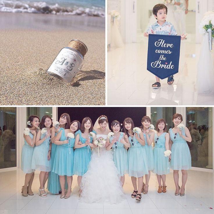 今日のpick up REAL PARTY MESSAGE IN A BOTTLE bride: @sayadepo planner: @arluiswedding ハワイの海から流れてきたような瓶につめた招待状や新婦のブーケやブライズメイドの持つブーケも新婦の手作り招待状の瓶にはハワイの帰りに海の砂を持って帰って思い出になるようにと思いを込めてみんなが自然体で楽しく過ごせるように感謝の思いを込めたウェディング  このパーティーのアルバムを見る@archdays プロフィールから記事にとべます  #arluiswedding #moanachapel #hawaiiwedding #messageinabottle #herecomesthebride #アールイズウェディング #モアナチャペル #オリジナルウェディング #ハワイウェディング #ハワイ婚 #リゾート挙式 #ブライズメイド #ブライズメイドドレス #サムシングブルー #ウェディングブーケ #ブライズメイドブーケ #手作りブーケ #ウェディングフラッグ #フラッグボーイ #結婚式招待状 #ウェディングドレス…