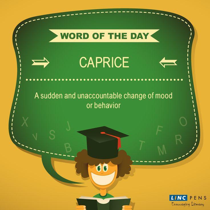 Here's today's #WordOfTheDay
