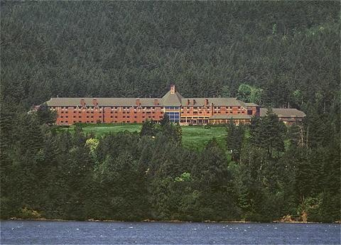 Skamania Lodge, Stevenson, WA. Wil & I celebrated our 5th anniversary here...it's gorgeous :)