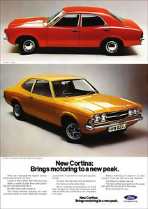 FORD-CORTINA-GT-L-MK3-RETRO-A3-POSTER-PRINT-FROM-CLASSIC-70s-ADVERT