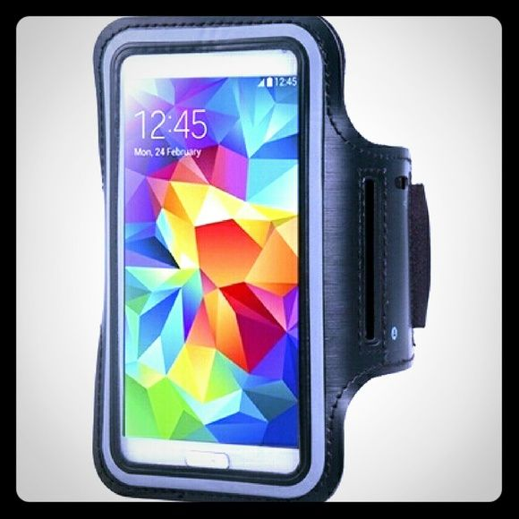 Samsung Galaxy Armband Samsung Galaxy Armband Fits all galaxy 1, 2, 3, 4, 5, 6, 6 Edge phones Accessories Phone Cases
