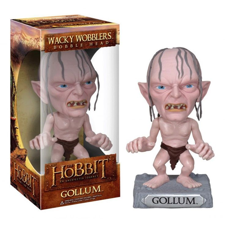 Figurine Bobble Head Le Hobbit Gollum