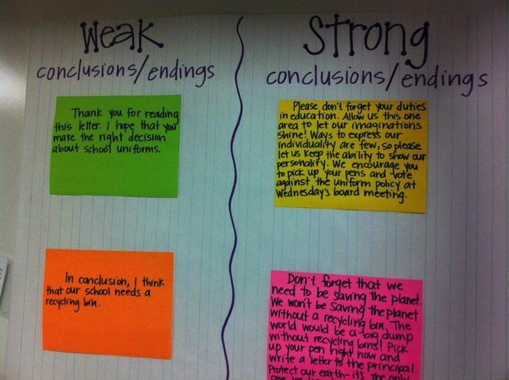 essay endings strong essay endings