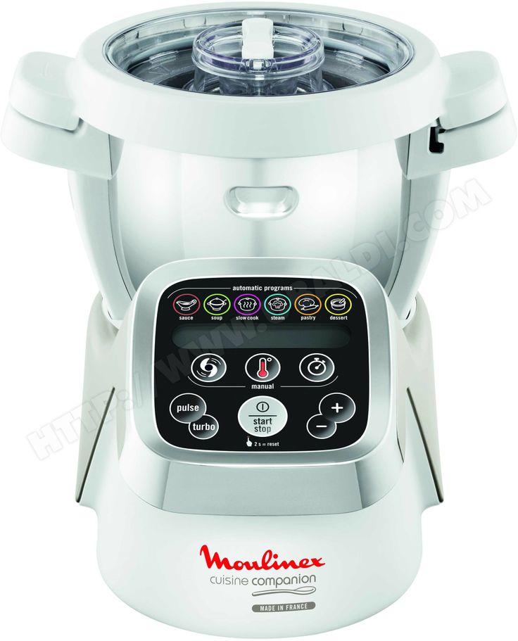 robot culinaire chauffant moulinex cuisine companion #cooking